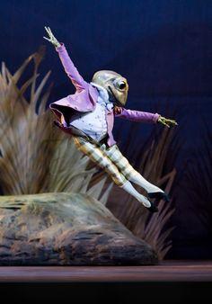 Jeremy Fisher - Beatrix Potter Ballet http://theworlddances.com/ #ballet #dance