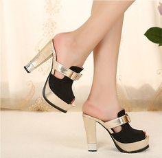 steady 2013 new Fun High-heel Casual Sandals