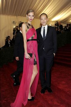 MET Gala - Karlie Kloss in and with Jason Wu