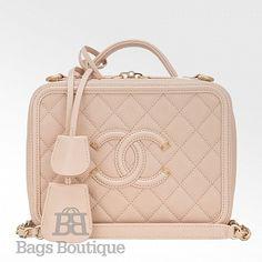 612da2c1ef2c 34 Best Chanel Vanity Case images | Chanel vanity case, Beige tote ...