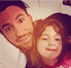 So cute! Daniel Rose Murrilo and his daughter awwwwww