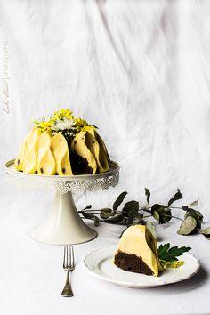 Yuzu & Chocolate Magic Cake