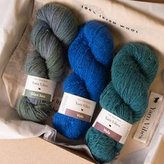 Beat the blues with our limited edition January bundle.  Enjoy a handpicked selection of three favorite Yarn Vibes blues in Sport Weight - perfect for lightweight shawls, simple snoods or statement sweaters.  Experience the unique feel of our hand washed and hand dyed 100% Irish yarn.  This special price bundle is here for a limited time only so hurry and get yours before they're gone. Beating The Blues, January Blues, Shawls, Irish, Throw Pillows, Simple, Unique, Sweaters, Toss Pillows