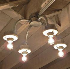 Exposed Conduit Ceiling Lights Lighting Pinterest