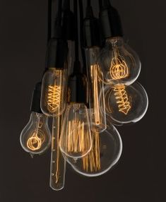 Beautiful Vintage Bulbs - no energy saving items here!