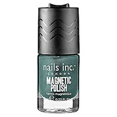 nails inc. - Wave Magnetic Polish in Whitehall Teal, London Town (taupe)  #sephora
