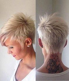 30 Short Pixie Haircuts Trending In 2019, A pixie haircut is one of the most beautiful and stylish short women's hairstyle you can see all the time on fashion shows. If you are looking for s..., Pixie Haircuts and Hairstyles