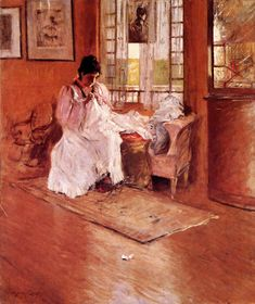 William Merritt Chase (American, Impressionism, 1849-1916): 1892. - Google Search