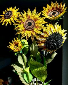 Quilling Sunflowers