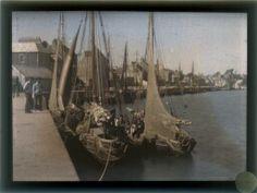 Saint-Vaast-la-Hougue (Manche), 1910 - 2 photographies