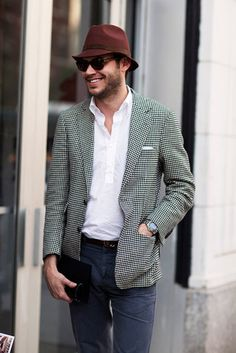Justin Doss, style editor for GQ.  This man knows fashion and style.