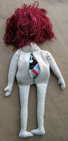 Survival doll.  Made me laugh but is actually a pretty cool idea. Especially for a kid