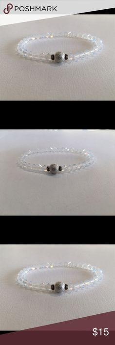 Crystal Stretch Bracelet 🌞White Opal🌙 Swarovski™ Swarovski Crystal Stretch bracelet.  White Opal Fits average size wrist.  Safe to bath, swim and wear 24/7!  Bundle stack with our other fabulous colors!!! Swarovski Jewelry Bracelets