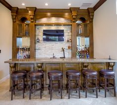 World Series is done. It's time to prepare for the Super Bowl. Actually custom home bar anyone?  Learn more here: https://www.closetfactory.com/pantry-wine-cellars/