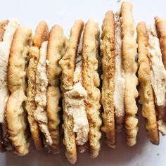 The vegan version of Nutter Butters is super easy to make, and tastes just as good! These vegan peanut butter sandwich cookies are a dream come true for vegan cookie lovers. Peanut Butter Sandwich Cookies, Nutter Butter Cookies, Vegan Desserts, Vegan Recipes, Snack Recipes, Cookie Recipes, Butter Recipe, Vegan Butter, Cookies Ingredients