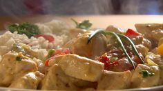 Currys csirke Chicken Rice, Meat Recipes, Cooking, Food, Curry, Red Peppers, Kitchen, Arroz Con Pollo, Curries