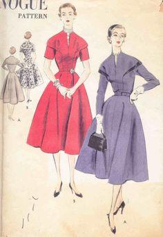 Vogue 7731, ca 1952; Sz 14/Bust 32