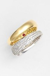 Roberto Coin 'Scalare' Diamond Stack Ring