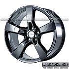 OEM CAMARO SS 20' BLACK CHROME WHEELS RIMS PERMACHROME - Black, CAMARO, CHROME, PERMACHROME, rims, wheels