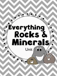 Free to Teach: Everything Rocks and Minerals