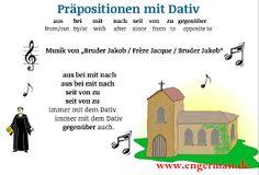 German Grammar - Präpositionen mit Dativ « L E A R N G E R M A N
