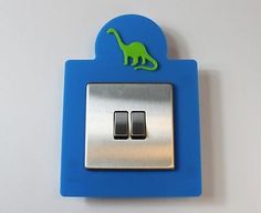 Dinosaur Light Switch Surround Plastic Kids Room Design - More Colours Dinosaur Light, Free To Use Images, Kids Room, Bedroom Kids, 3d Design, High Quality Images, Finding Yourself, Colours, Dinosaur Bedroom