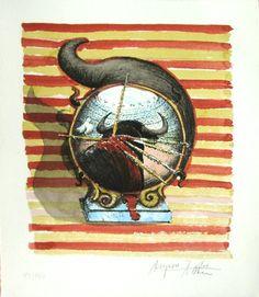 Hervorragend Stier, Bull, Janus, Kunstband,art Book, Artgallery, Gemäldegalerie,haus Der  Kunst,louvre,museum Of Modern Art, Etching, Farbradierung, Art Investment,  ...