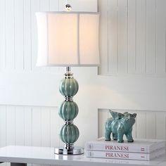 Set of 2 Table Lamps Home Lighting Stylish Art Decor Ceramic Green Globe Design for sale online Green Table Lamp, Table Lamp Sets, Globe Lamps, Globe Lights, Nightstand Lamp, Lamp Shade Store, Home Lighting, Art Decor, Decoration