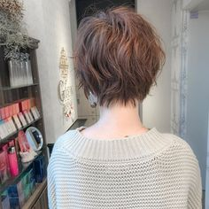 Popular Short Haircuts, Short Hairstyles For Women, Hairstyles Haircuts, Medium Short Hair, Short Hair Cuts, Medium Hair Styles, Tina Nguyen, Short Styles, Hair Beauty
