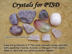 Crystals for ptsd