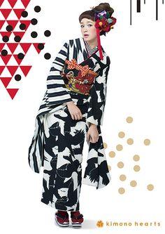 コーデ別 振袖 カタログ|レトロトリップ|キモノハーツ ポータル|#kimono                                                                                                                                                                                 もっと見る