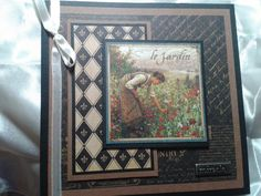 Ladymajik Creations - Just love the Graphic 45 French Country Paper collection.