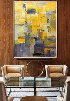 Contemporary Wall Art Large Art Abstract by CelineZiangArt on Etsy