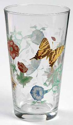 Lenox Butterfly Meadow 16 Oz Glassware Tumbler