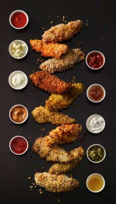 Spice up your chicken strips with a variety of recipes and ideas - from taco seasoning to salsa dips, these finger good creations are a must try!