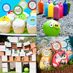 We just can't get enough of Angry Birds, so it's safe to say that an Angry Birds-themed birthday party is a guaranteed hit! This themed party for a even featured a life-sized Angry Birds game in the backyard! Source: Simply Styled Home Bird Birthday Parties, Summer Birthday, Birthday Bash, Birthday Ideas, Fourth Birthday, Birthday Celebration, Birthday Wishes, Festa Angry Birds, Bird Party