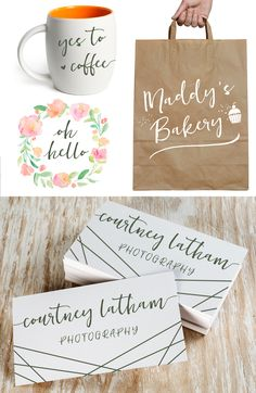 Heathrow Script Font: Handwritten font with flourishes, perfect for weddings, save the dates, DIY invitations and more.