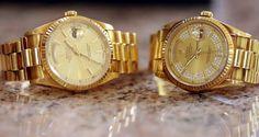"sugahmami: ""teenageh: ""xsadasia: "" tr(eat) me right "" teenageh🌴✨💛 "" sugahmami 💖✨ "" P. Gold Everything, Gold Watch, Rolex Watches, Rose Gold, Luxury, Accessories, Eat, Jewelry Accessories"