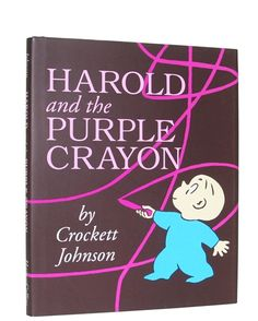 Harold and the Purple Crayon. I LOVED this book as a kid, and loved introducing my kids to it. A real classic ;-)