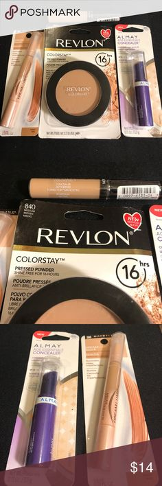 Medium Powder & Highlight Concealer &Concealer New Medium Powder & Highlight Concealer &Concealer New Maybelline Makeup Concealer