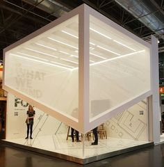 Euroshop Duesseldorf 2017 - simple clean design
