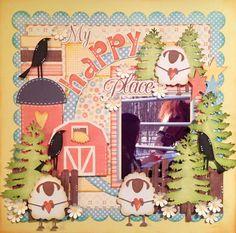 My Happy Place-Die cut reveal SOUS - Nannes Creations