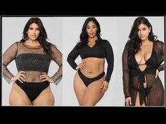 Configuración - YouTube Victoria Kay, Modelos Plus Size, Swimwear, Youtube, Fashion, Best Swimsuits, Black Swimsuit, Large Women, Plus Size Women