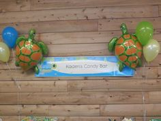 Hostess with the Mostess® - Turtle Themed 1st Birthday Party