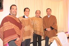 Claudio Cardemil, Jesús Pons Raineri., Jesús Pons Martínez y José Miguel Guerra  Premiación de la Asociación de Rodeo de Curicó 22 de junio 2013