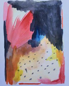 Hoy no esquío! #abstractart #abstractexpressionism #abstracto #arte #arteabstracto #abstract #acuarela #watercolor #interior #decoration #interiordesign #decor #interiorismo #encargo #commission