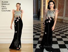 Dita von Teese In Alexis Mabille – Paris Fashion Week Haute Couture Fall 2011 Closing Party