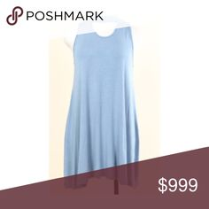 """(Plus) Blue choker collar dress 95% rayon/ 5% spandex. Super soft and stretchy! Runs true to size- I'm a 2x/16 and the 2x fit perfectly 1x: L 35"""" B 40"""" 2x: L 36"""" B 42"""" 3x: L 37"""" B 44"""" ⭐️This item is brand new from manufacturer without tags.  🚫NO TRADES 💲Price is firm unless bundled 💰Ask about bundle discounts Availability: 1x•2x•3x • 1•2•1 Dresses Mini"""