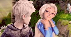 Rapunzel: what'da you think? Jack: whoe!!