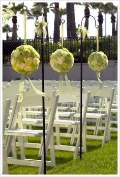 Green Wedding Flowers - Green Wedding Theme